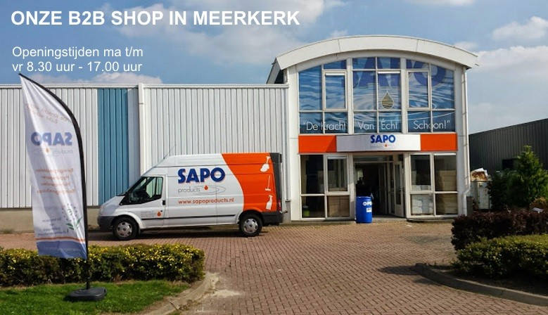 Locatie SAPO Horeca Products