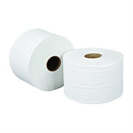 Toiletpapier compact, 100% rec-tissue, 2 laags, 100 m, 725 vel, 36 rol
