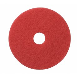 """Vloerpad rood 17"""" (5 stuks)"""