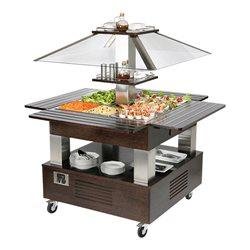 Gekoeld buffet / Saladebar Type A (eiland)