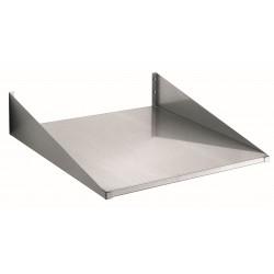 Bartscher Wandplank 600x600mm, CNS