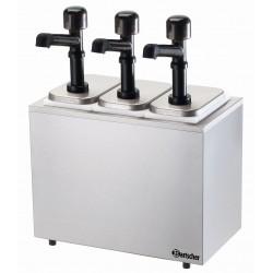 Bartscher Pompstation,3 pompen 3x3,3L