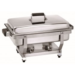 Bartscher Chafing Dish 1/1GN, greep houtdecor