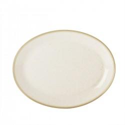 Ovaal bord Oatmeal 30,5 cm (6 stuks)