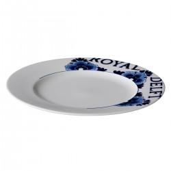Royal Delft bord met rand 27 cm (3 stuks)