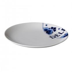 Royal Delft coupe bord 21,5 cm (6 stuks)