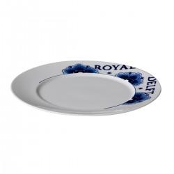 Royal Delft bord met rand 23,5 cm (6 stuks)
