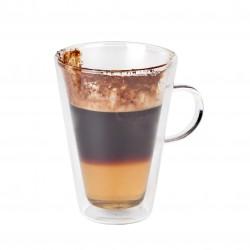Macchiato-/theeglas dubbelwandig 280 ml (24 stuks)