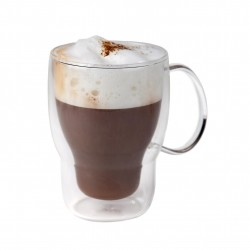 Koffie-theeglas dubbelwandig 400 ml (24 stuks)