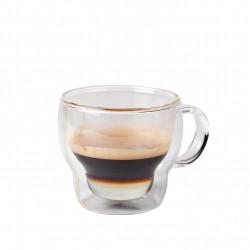 Koffie-theeglas dubbelwandig 230 ml (24 stuks)