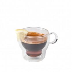 Koffie-theeglas dubbelwandig 120 ml (24 stuks)