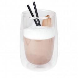 Koffie-/theeglas zonder handvat dubbelw. 400 ml (24 stuks)