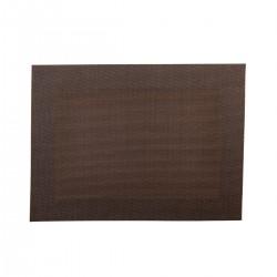 Placemat rechthoekig Bruin 45 x 33 cm (24 stuks)