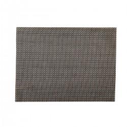 Placemat rechthoekig Zilver/Koper 45 x 33 cm (24 stuks)