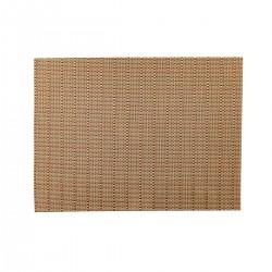 Placemat rechthoekig Koper/Goud/Zilver 45 x 33 cm (24 stuks)