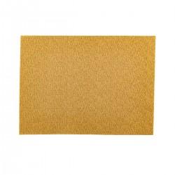 Placemat rechthoekig Beige/gestreept 45 x 33 cm (24 stuks)