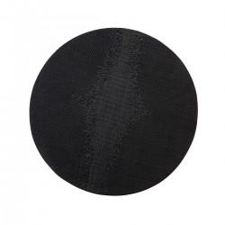 Placemat rond Zwart 38 cm (24 stuks)