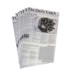 Vetvrij papier 'Daily Catch' 25,5 x 40,5 cm 500st (1 stuks)