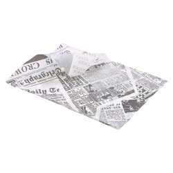Vetvrij papier 'The Plaice To Be' 35 x 25cm 1000st (1 stuks)
