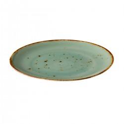 Coupe bord reactive blue 21 cm (6 stuks)