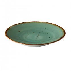 Coupe bord reactive blue 15,5 cm (6 stuks)