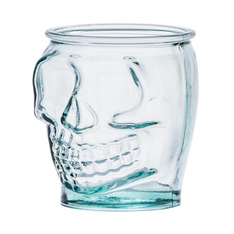 Skull glazen 400ml