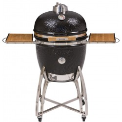 "Saffire keramische BBQ, Grill en Smoker XLarge 58cm (23"") RVS"