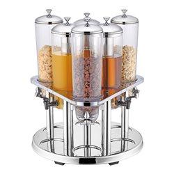 Combi dispenser – 3 x drank (3 liter) en 3x graan