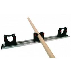 Toolflex Wandstrip met 3 steelklemmen 50cm