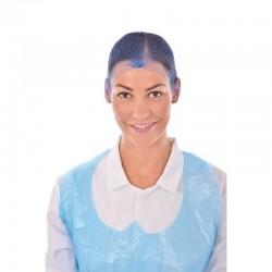 Haarnet blauw