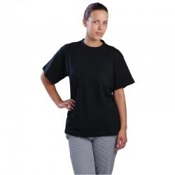 Unisex T-shirt zwart M