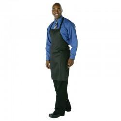 Chef Works halterschort zwart