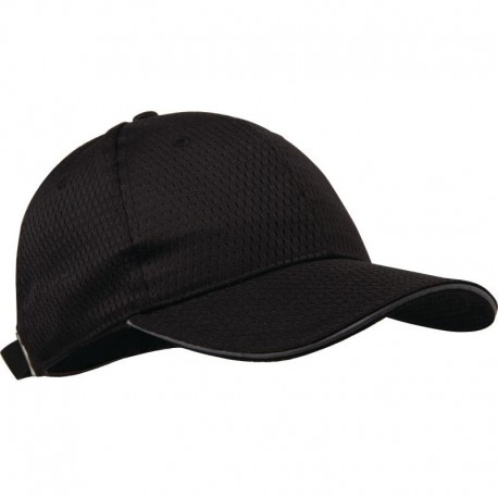 Chef Works Cool Vent baseball cap zwart en grijs