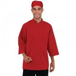 Chef Works unisex koksbuis rood XL