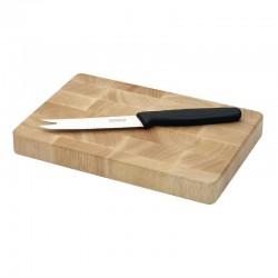 Vogue rechthoekige houten snijplank 15x23cm