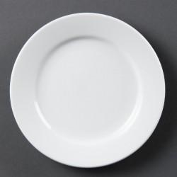 Olympia Whiteware borden met brede rand 16,5cm