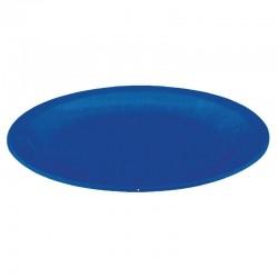 Kristallon bord 23cm blauw