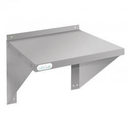 Vogue RVS oven/magnetron wandplank 56x56cm