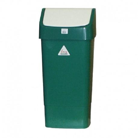 SYR afvalbak met schommeldeksel groen