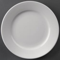 Athena Hotelware borden met brede rand 16,5cm