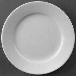 Athena Hotelware borden met brede rand 20cm