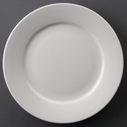 Athena Hotelware borden met brede rand 23cm