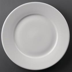 Athena Hotelware borden met brede rand 25cm