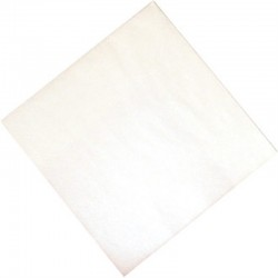Professionele papieren servetten 40cm wit