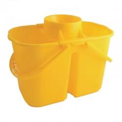 Jantex kleurcode dubbele mopemmer geel