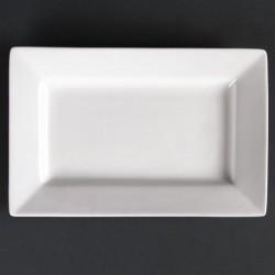 Lumina rechthoekige schalen met brede rand 20 x 13cm