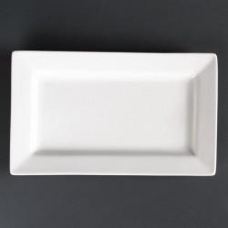 Lumina rechthoekige schalen met brede rand 25,7 x 15,5cm