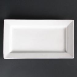 Lumina rechthoekige schalen met brede rand 31 x 17,5cm