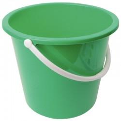 Jantex kunststof emmer 10ltr groen