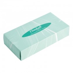 Cloudsoft witte tissues voor rechthoekige tissue box CF121